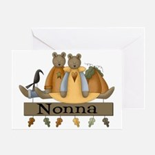 Autumn Nonna Greeting Card