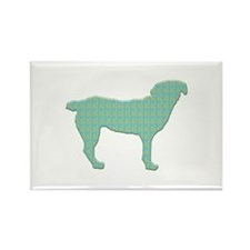 Paisley Entlebucher Rectangle Magnet