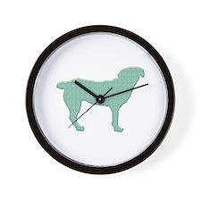 Paisley Entlebucher Wall Clock