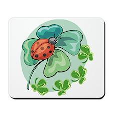 Lucky Ladybug Mousepad