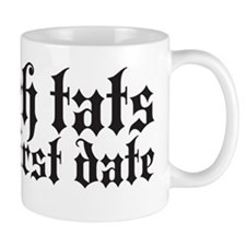 I touch tats Mug