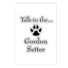 Gordon Talk Postcards (Package of 8)