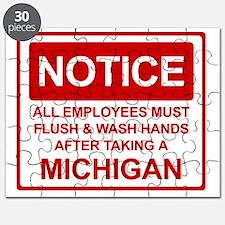 Flush Michigan Puzzle