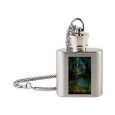 Mystical Entry Flask Necklace