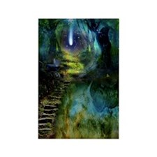 Mystical Entry Rectangle Magnet