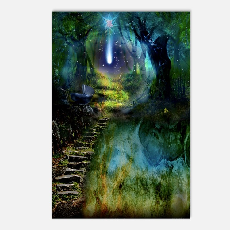 Mystical Entry Postcards (Package of 8)