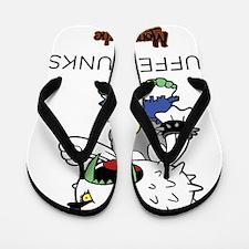 Puffer Punks Flip Flops