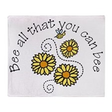 Bee All Throw Blanket
