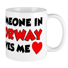 Someone Norway Loves Me Mug