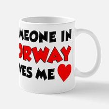 Someone Norway Loves Me Mug