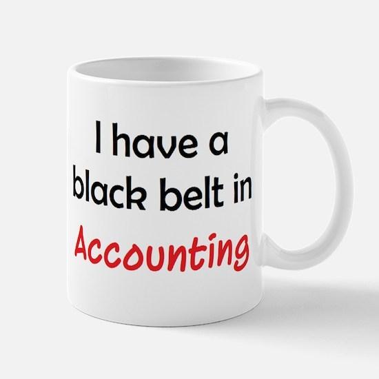 Accounting Black Belt Mug