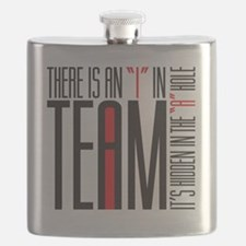 There is an I in team Flask