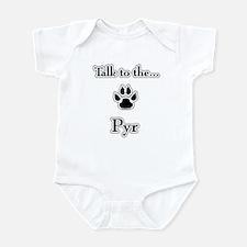 PYR Talk Infant Bodysuit