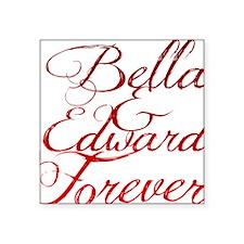 """Bella  Edward Square Sticker 3"""" x 3"""""""
