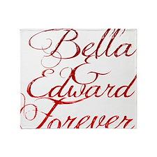 Bella  Edward Throw Blanket
