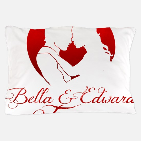 Bella  Edward Forever W/Heart Pillow Case