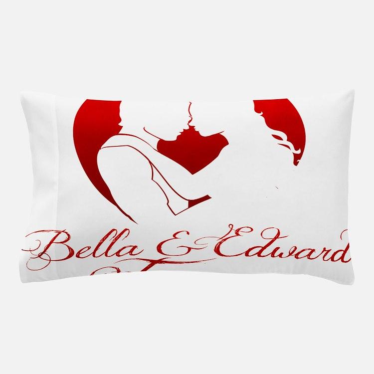 Bella  Edward Forever W/Heart Pillow Case