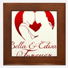 Bella  Edward Forever W/Heart Framed Tile