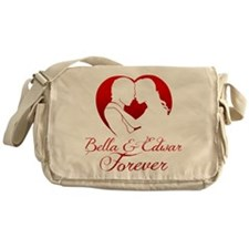 Bella  Edward Forever W/Heart Messenger Bag