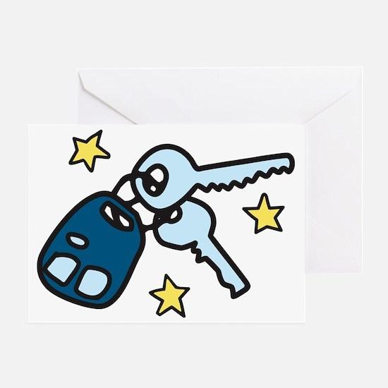 Car Keys Greeting Card