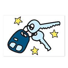 Car Keys Postcards (Package of 8)