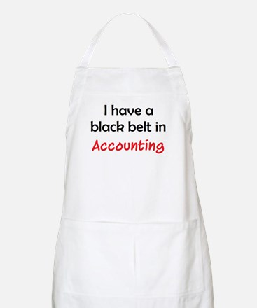 accounting black belt Apron