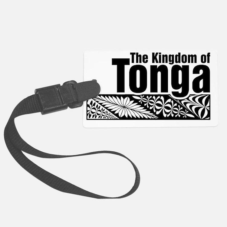 The Kingdom of Tonga - kupesi de Luggage Tag