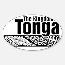 The Kingdom of Tonga - kupesi desig Decal