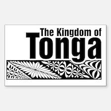 The Kingdom of Tonga - kupesi  Decal
