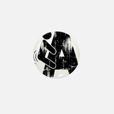 FNA_black_Distressed Mini Button