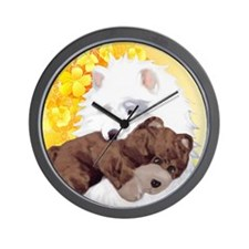 teddyyellow Wall Clock