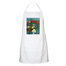 Vase with Cornflowers and Poppies Apron