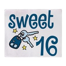 Sweet 16 Throw Blanket