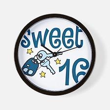 Sweet 16 Wall Clock
