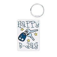 Happy B-day Keychains