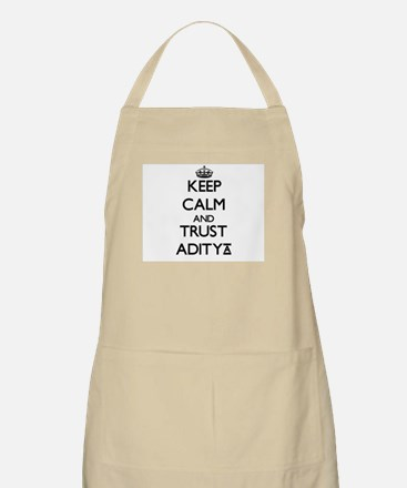 Keep Calm and TRUST Aditya Apron