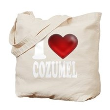 I Heart Cozumel Tote Bag