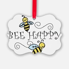 Bee Happy Ornament