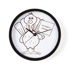 Im really a chicken! Wall Clock