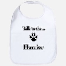 Harrier Talk Bib