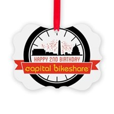 Capital Bikeshare 2nd Anniversary Ornament