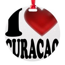 I Heart Curacao Ornament