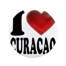 """I Heart Curacao 3.5"""" Button"""