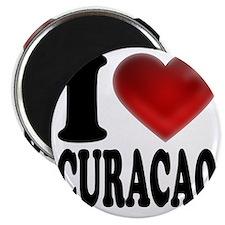 I Heart Curacao Magnet