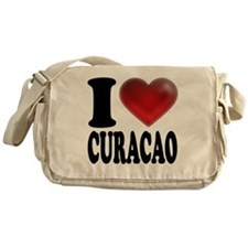 I Heart Curacao Messenger Bag