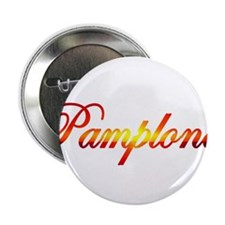 Pamplona, Spain Button