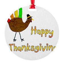 Hand Turkey Ornament