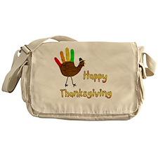 Hand Turkey Messenger Bag