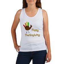 Hand Turkey Women's Tank Top