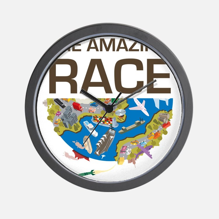 The Amazing Race Clocks The Amazing Race Wall Clocks